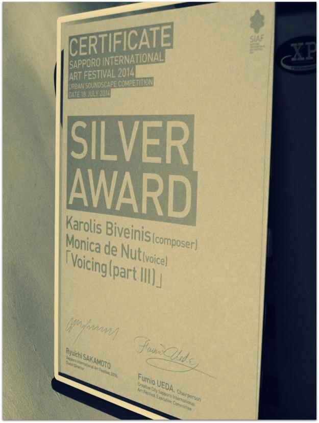 Sapporo certificate